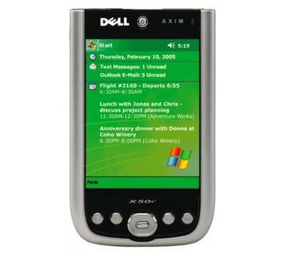 Dell Axim X50V PDA Pocket PC 520.0 MHz