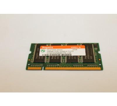 HYNIX 256mb DDR 333mhz PC2700S Laptop RAM HYMD532M646CP6-J AA