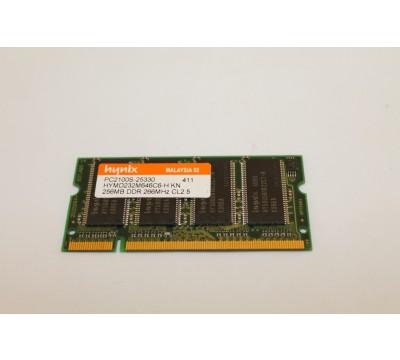 HYNIX HYMD232M646C6-H KN 256MB DDR 266MHZ PC2100 LAPTOP MEMORY