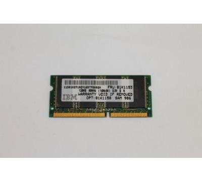 IBM LAPTOP RAM 128MB 66MHZ FRU:01K1153