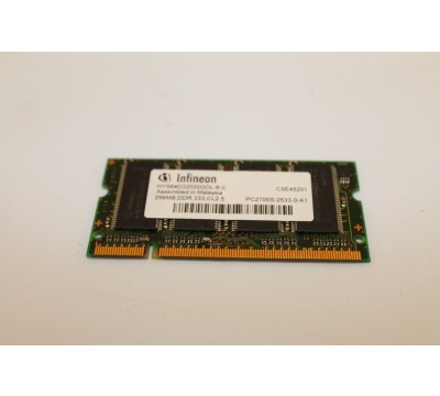 Infineon HYS64D32020GDL-6-C DDR RAM 333MHz 256MB