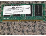 256MB 144p PC133 SDRAM SODIMM-RFB, Infineon,  HYS64V32220GDL-7.5-D