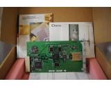 CISCO SYSTEMS CATALYST WS-X2931-XL 73-3666-05 1000BASEX UPLINK W/ DOCUMENTATION