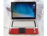 "GATEWAY M-SERIES M-6750 15.4"" RED LAPTOP C2D T5450 1.67GHz CPU 3GB RAM 120GB HDD"