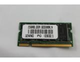 TOSHIBA SATELLITE A75 A70 MEMORY 256MB DDR2 MEMMORY RAM PC2700 32WND