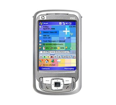 HP iPaq RW6828 Multimedia Messenger