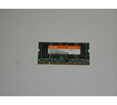 Hynix 128MB PC2700 DDR-333 333MHz Laptop Memory Ram HYMD216M646D6-J