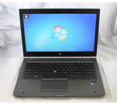"HP ELITEBOOK 8470W 14"" LAPTOP i7 3610QM 2.3GHz CPU 8GB RAM 500GB HDD B8V70UT"