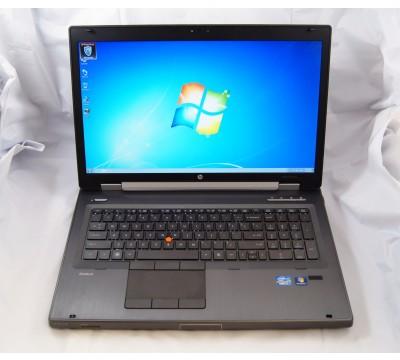 "HP ELITEBOOK 8760W 17.3"" LAPTOP i7 2720QM 2.2GHz CPU 16GB RAM 500GB HDD XU088UT"