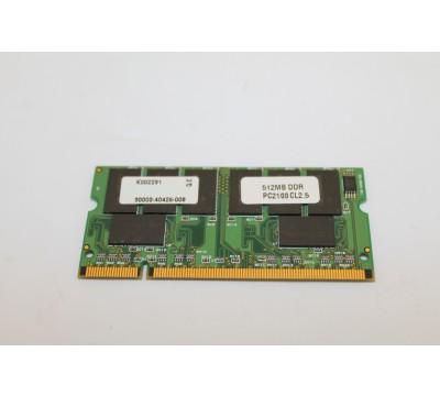 SIMPLE TECH 512MB DDR PC2100 CL2.5 LAPTOP MEMORY K002291