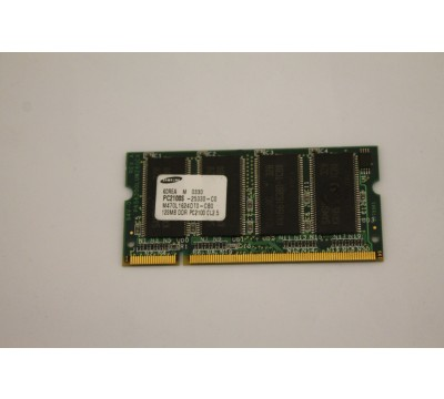 SAMSUNG LAPTOP RAM M470L1624DT0-CB0 128MB, DDR, PC2100, CL2.5