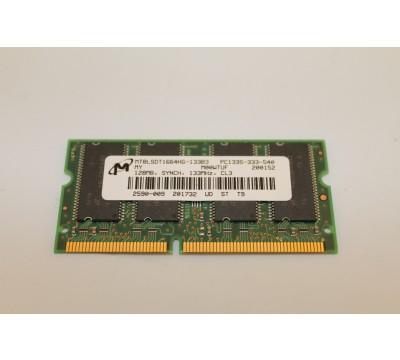 MICRON MT8LSDT1664HG-133B3 128MB, 133MHZ, CL3, PC133