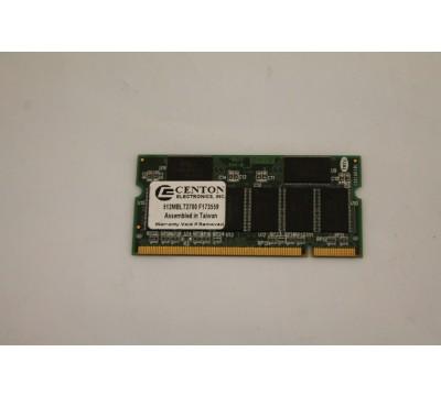 CENTON ELECTRONICS LAPTOP RAM 512MB, DDR333 RDSC3208-60A
