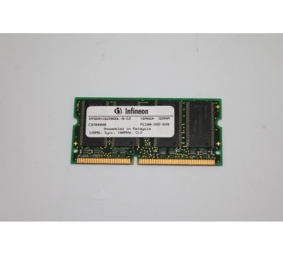 Infineon HYS64V16220GDL-8-C2 100MHz 128MB LAPTOP RAM