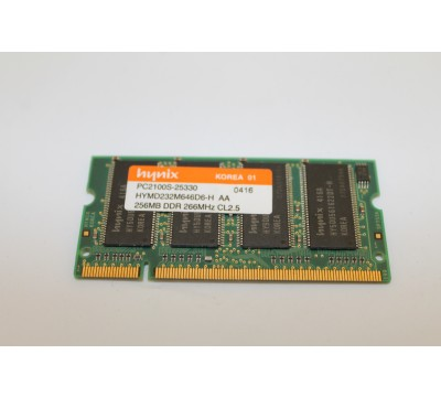 HYNIX HYMD232M646D6-H AA 256MB DDR 266MHZ LAPTOP RAM