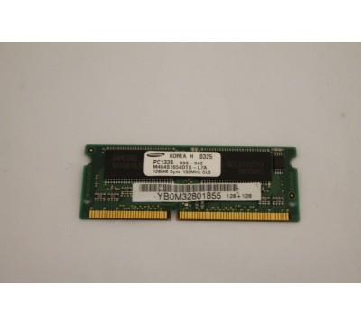 SAMSUNG LAPTOP RAM M464S1654DTS-L7A 128MB, 133MHZ, PC133, CL3