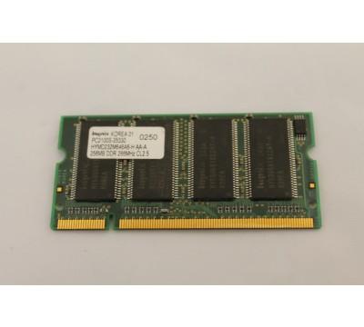 HYNIX LAPTOP RAM HYMD232M646A6-H AA-A 256MB, DDR, 266MHZ CL2.5
