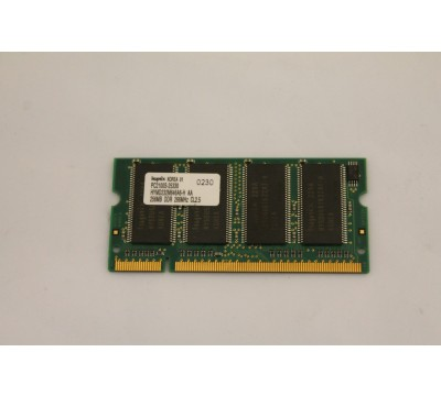 HYNIX LAPTOP MEMORY HYMD232M646A6-H AA 256MB, DDR, 266MHZ, CL2.5