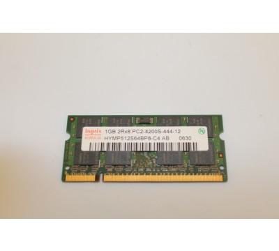 HYNIX LAPTOP MEMORY 1GB 2Rx8 PC2-4200S HYMP512S64BP8-C4 AB DDR
