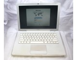 "APPLE MACBOOK A1181 WHITE 13"" LAPTOP T7500 2.2GHz CPU 2GB RAM 200GB MB062LL/B"