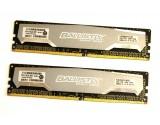 BLS4G4D240FSA Crucial Ballistix Sport DDR4 2x 4GB 2400MHz 1.2V Desktop Memory  (8GB Kit)