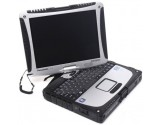 Panasonic Toughbook Cf-19 Touchscreen Core 2 Duo U7500 320GB HDD 4GB Ram Windows 7