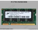 MICRON LAPTOP RAM MT8VDDT3264HDG-335C3 256MB DDR 333MHZ