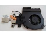 HP EliteBook 2540p Cooling Fan and Heatsink 598788-001