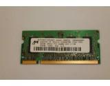 MICRON LAPTOP MEMORY MT4HTF3264HY-40EB3 256MB, DDR2, 400MHZ, CL3 PC-3200