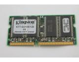 KINGSTON 128MB 100Mhz LAPTOP MEMORY PC-100 KTT-SO100/128