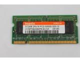HYNIX 512MB DDR2 333MHz LAPTOP MEMORY RAM PC2-3200S-333-12 HYMP564S64P6-E3 AA