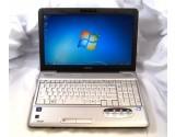 """TOSHIBA SATELLITE L505-ES5018 15.6"""" LAPTOP PENTIUM T4400 2.2GHZ CPU 3GB RAM 200GB"""
